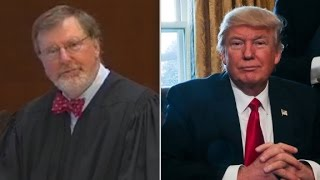 Trump rips federal judge who halted travel ban