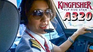 Piloting the Airbus A320 out of Mumbai (2008)