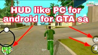 HUD like PC for android for GTA SA 2020