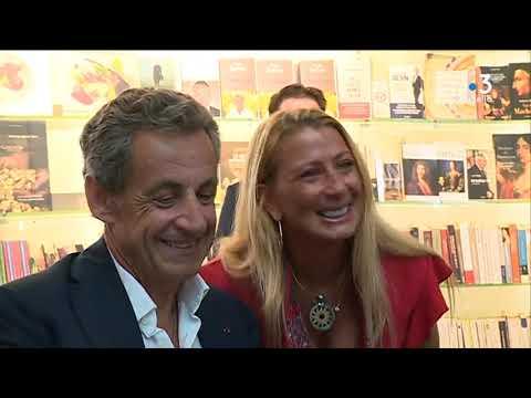 La dédicace de Nicolas Sarkozy à Baleone attire près d'un millier de personnes - - France 3 Corse ViaStella