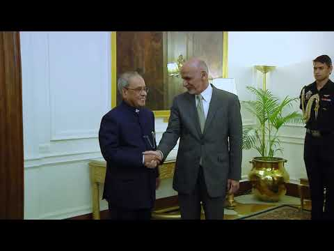 President of the Islamic Republic of Afghanistan call on the President - 15-09-16