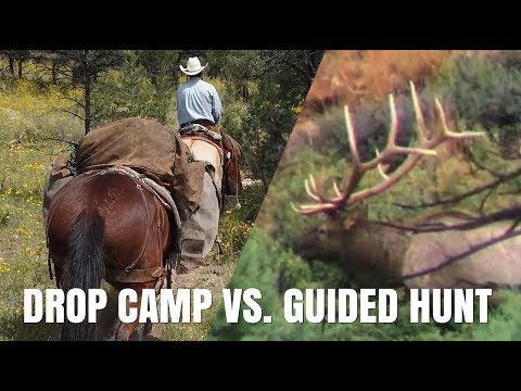Drop Camps VS. Guided Hunts, Weighing The Options