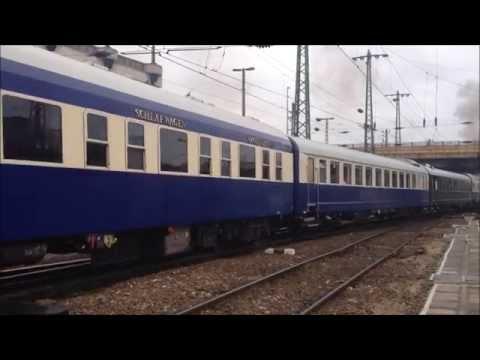 The Golden Eagle Danube Express - Steam engine - Dampflok - Bahn - Railway