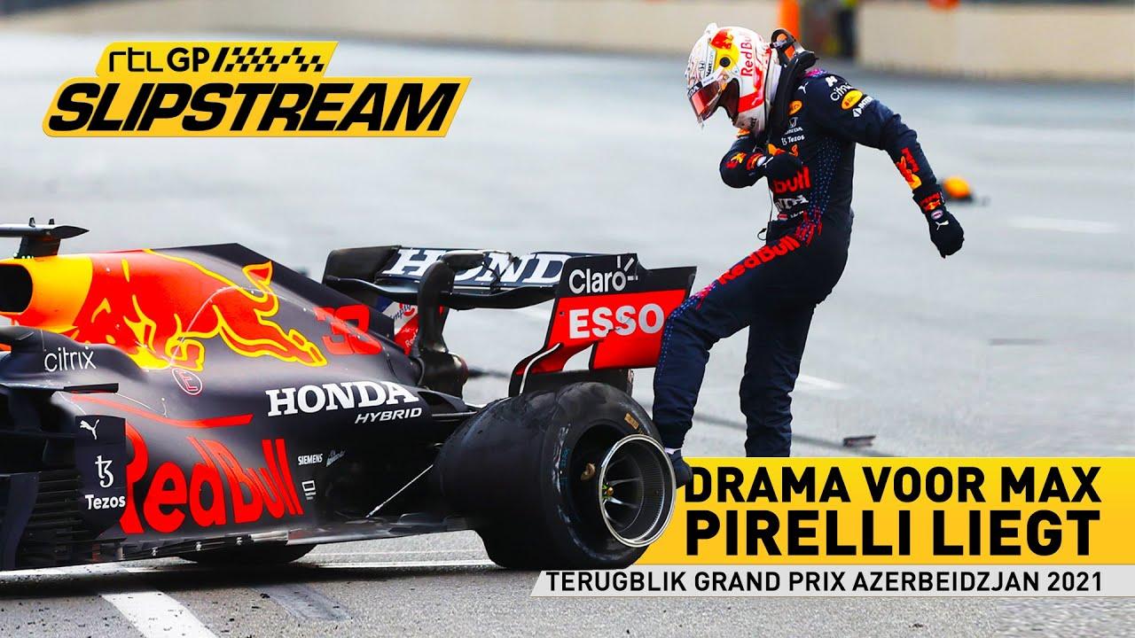 Drama voor Max, Pirelli liegt| SLIPSTREAM