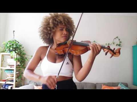 """Ezinma Plays """"Rake It Up"""" On Violin"""