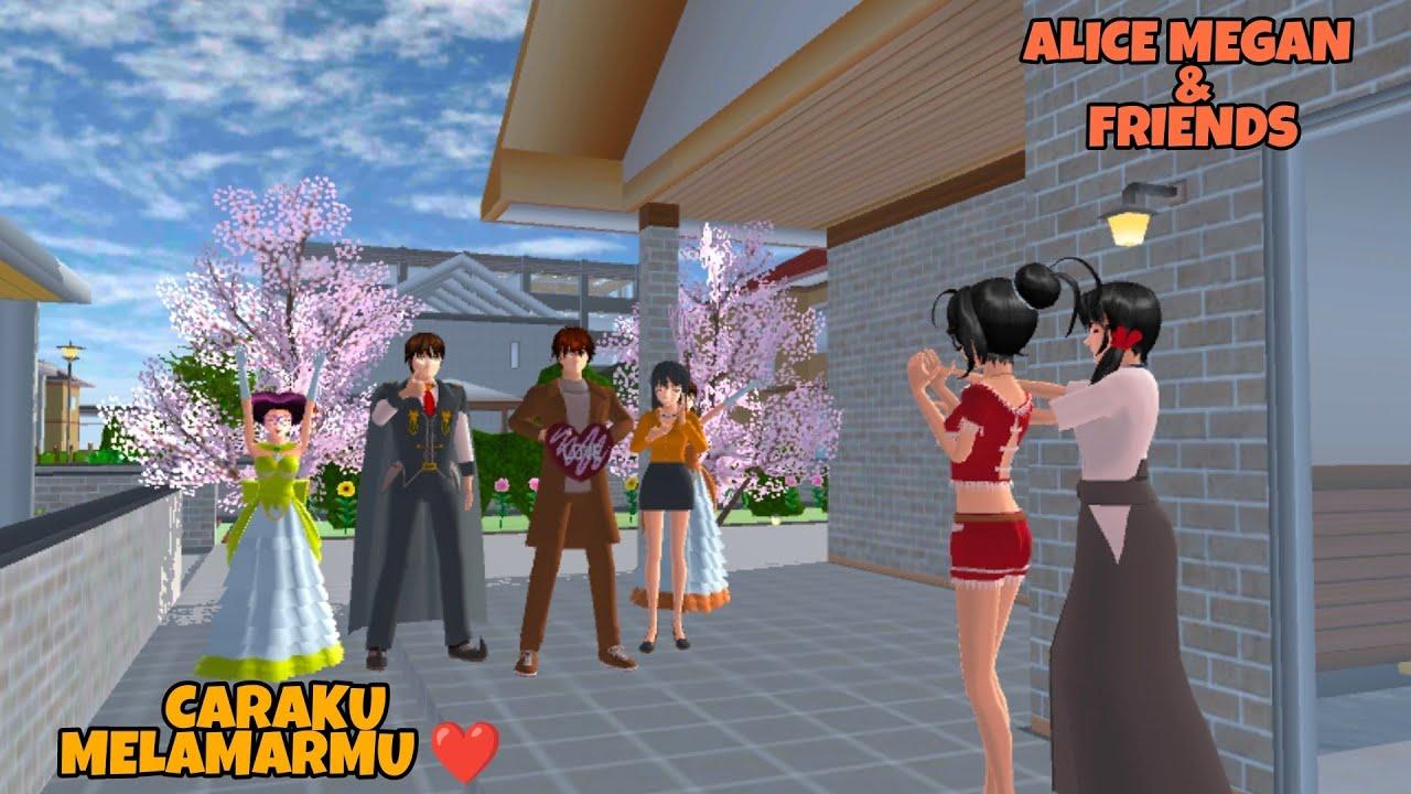 Download ALICE MEGAN & FRIENDS [ALICE DILAMAR KAK JOSUA] SAKURA SCHOOL SIMULATOR