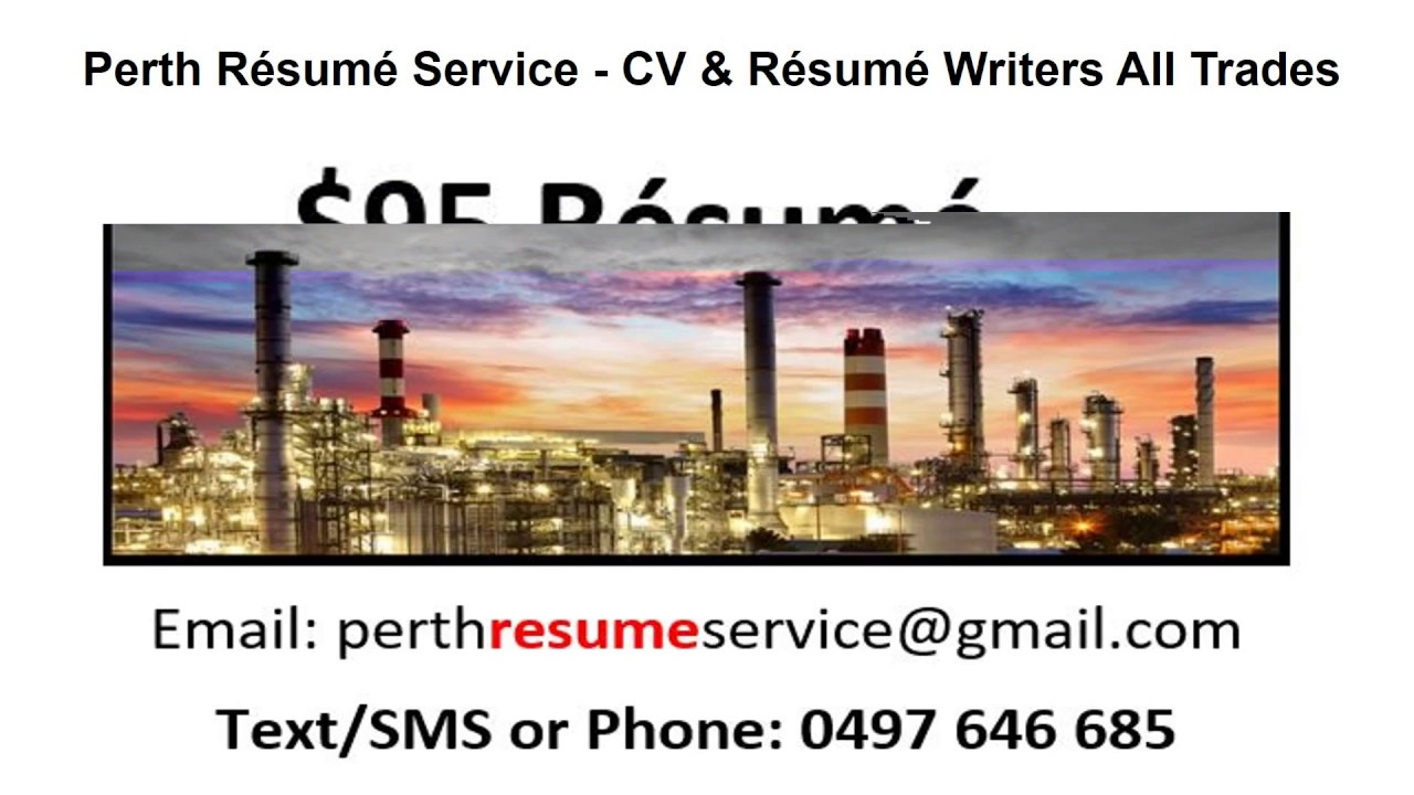 resume writing perth Mining résumés the mining industry is one of the highest paid careers in western australia and everyone wants a position in mining resume writers perth - resume experts are specialists when it comes to the mining, gas and oil industry.