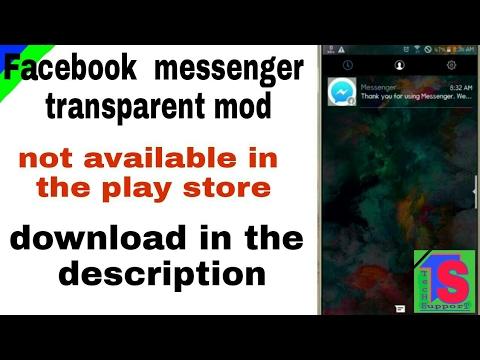 transparent facebook messenger apk