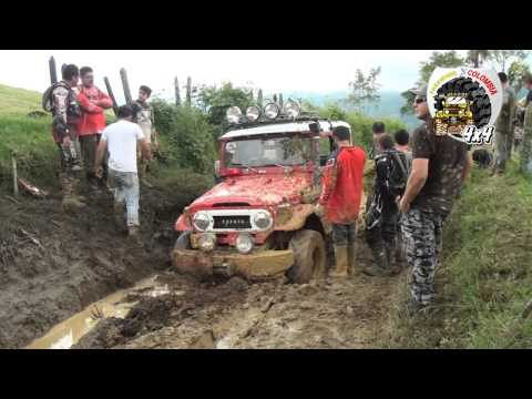 4X4 - TROCHEROS  A VERGARA CUND.- CLUB FREEWHEEL X COLOMBIA - PACHO   VERGARA