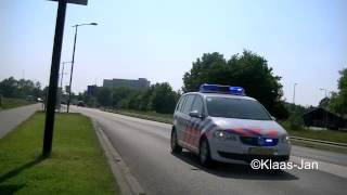 politie noodhulp met spoed naar VKO