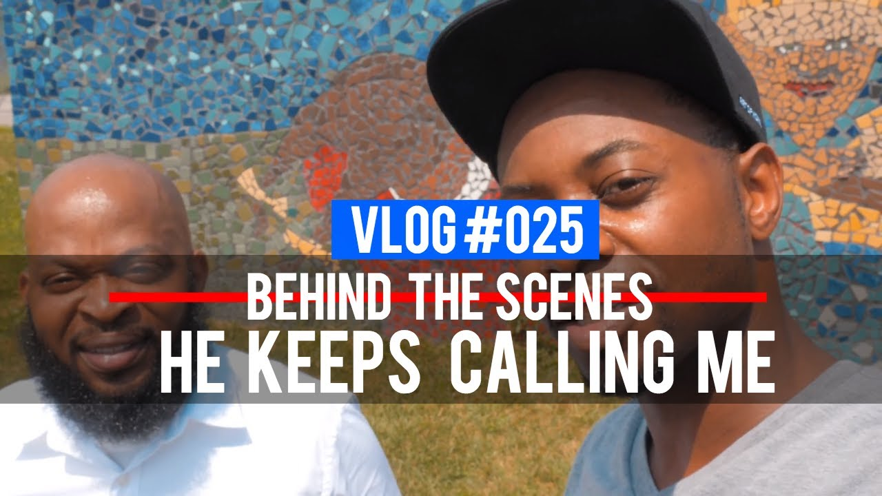 VLOG 025 - Music Video Behind the Scenes: He Keeps Calling Me (@RebirthofSOC @MinisterCarvell)