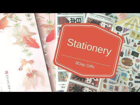 Stationery Birthday Gifts