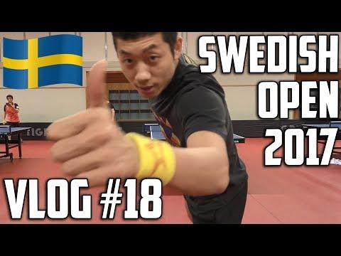 TableTennisDaily Vlog #18 - Swedish Open 2017!