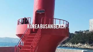Jalan jalan ke korea (pantai busan) #부산바다#koreabusanbeach