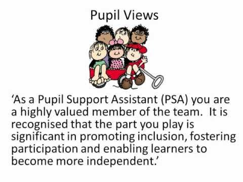 Pupil Support Assistants