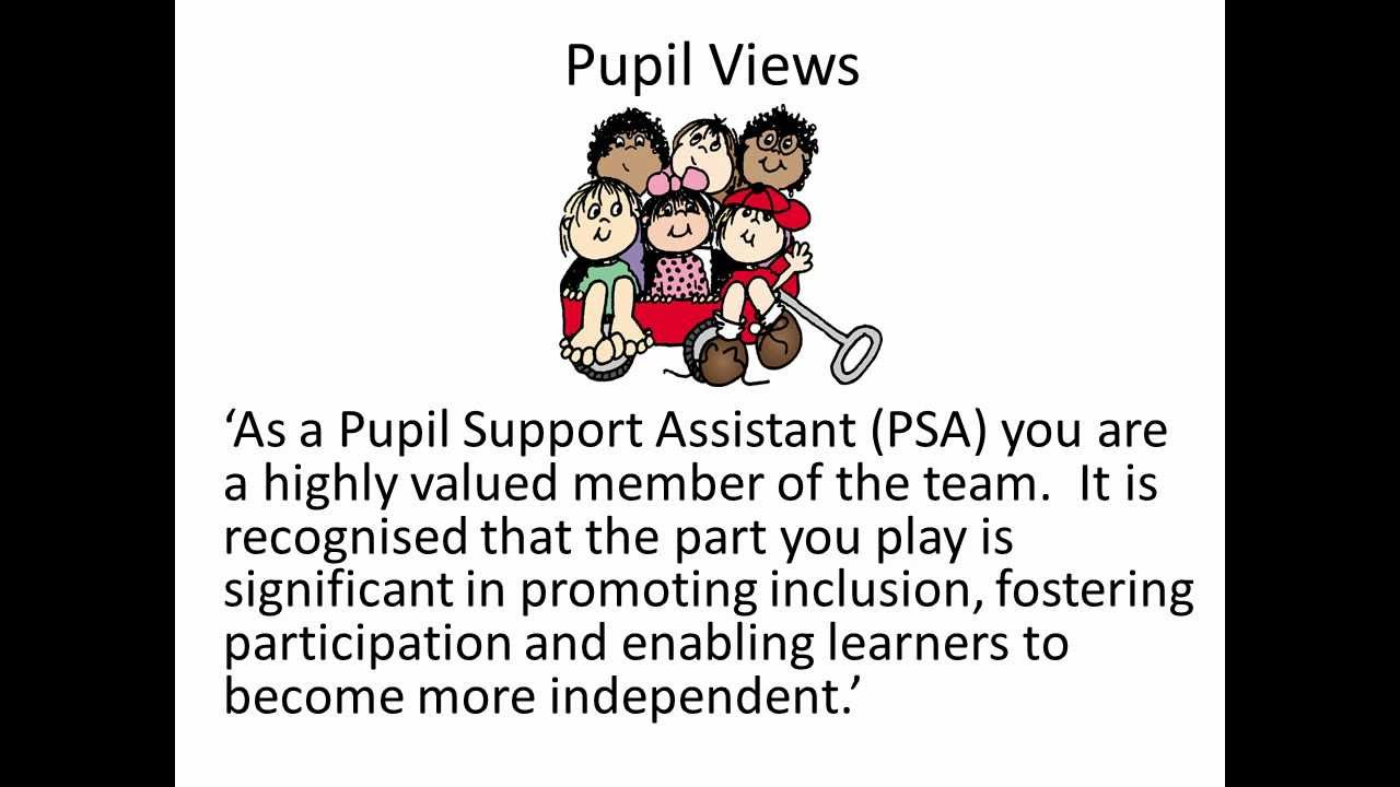 pupil support assistants pupil support assistants