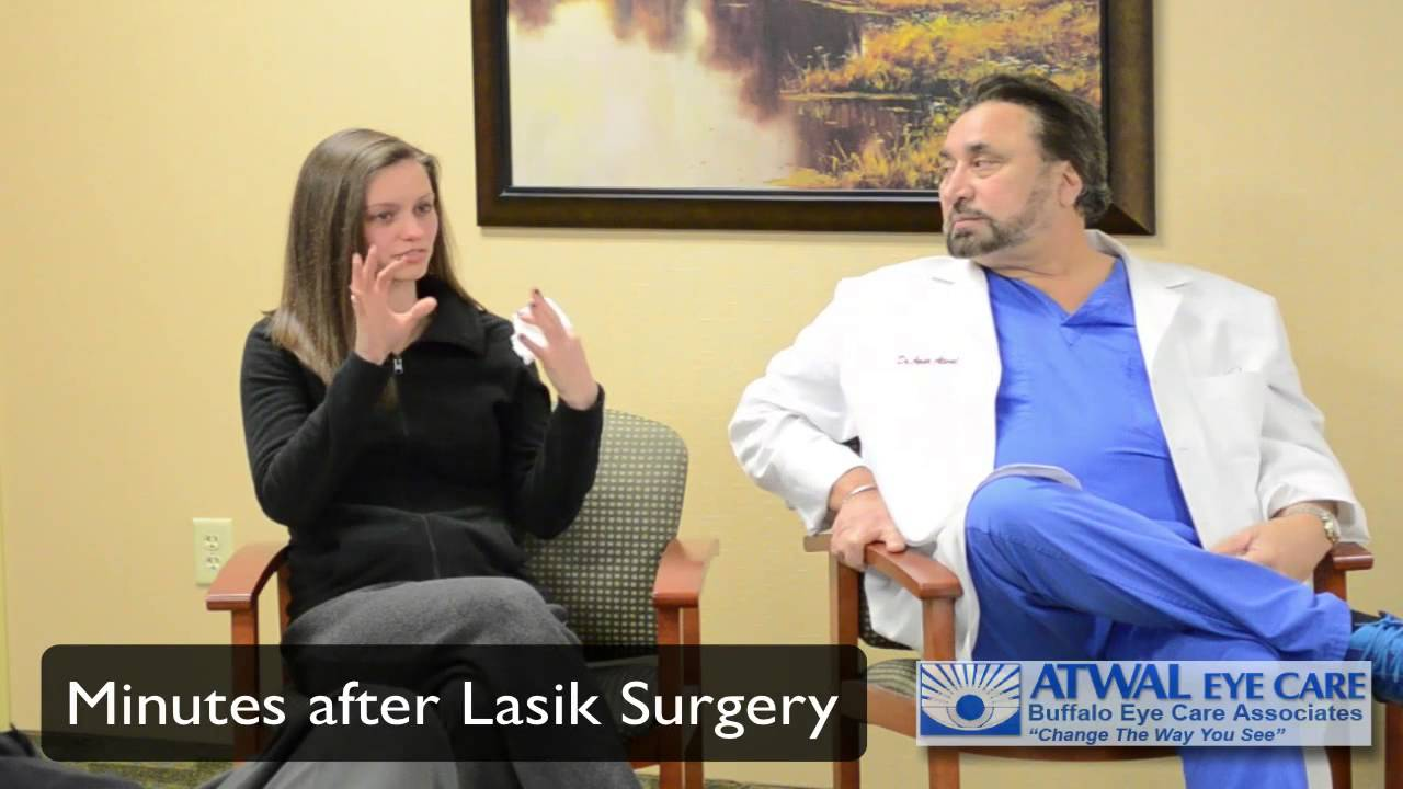 Atwal Eye Care Recent Lasik Patient