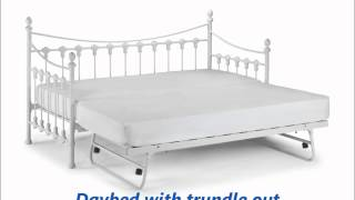 Versailles Daybed Trundle Comfy Living