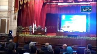 مؤتمر هيئة ضمان الجودة بجامعة القاهرة