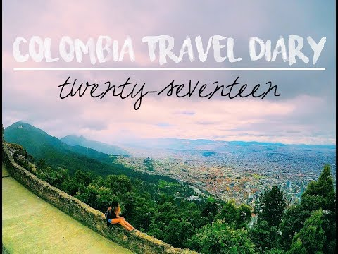 COLOMBIA TRAVEL DIARY | GOPRO HERO 5 + KRAMA GRIP | 2017