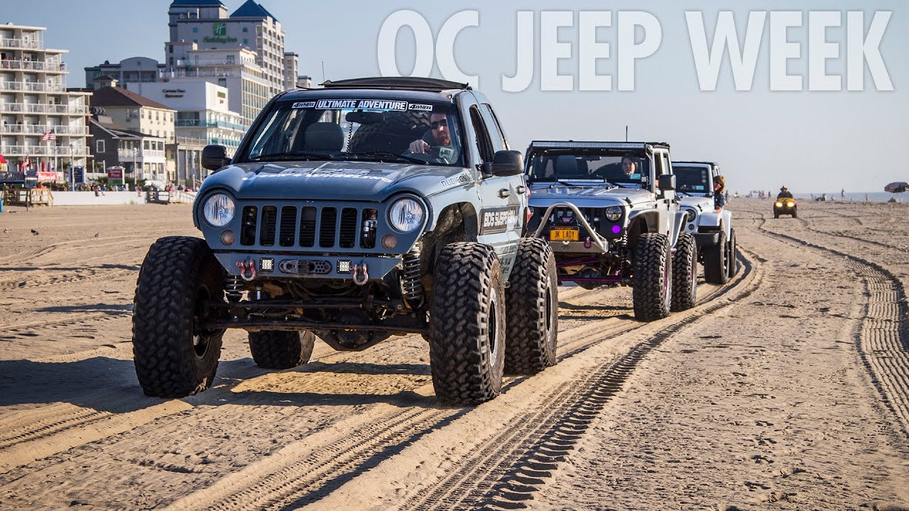 Ocean City Jeep Week >> Ocean City Jeep Week 2016