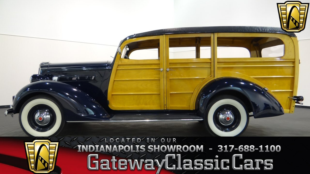 1937 Packard 115-C Station Wagon - Gateway Classic Cars Indianapolis ...