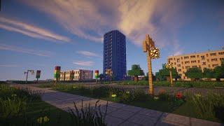 Русский город в Minecraft - 5 - ЖК ''Солнечное море''