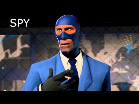 Vidéo Team Fortress 2 — rôle du Spy (sans musique)