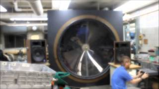 Giant Subwoofer Video