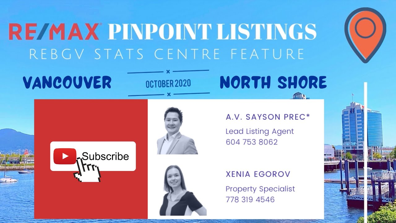 2020 October REMAX Vancouver North Shore video by The Pinpoint Listings Team