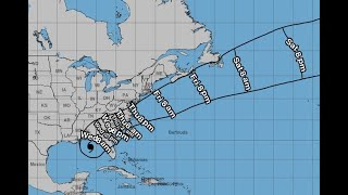 Super Doppler 10: 7 AM Update (Tracking Michael)