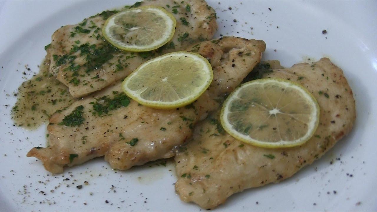 recipe: scaloppine di pollo al limone [12]