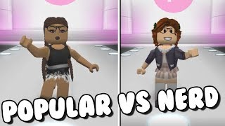 POPULAR VS NERD | Roblox Fashion Frenzy en español