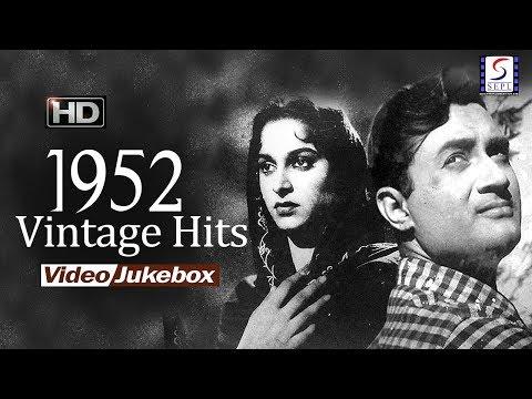 Vintage Hits Songs Of 1952 Jukebox  All HD  Songs