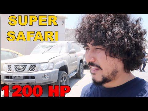 The Nissan Super Safri  Is The Craziest Car In DUBAI