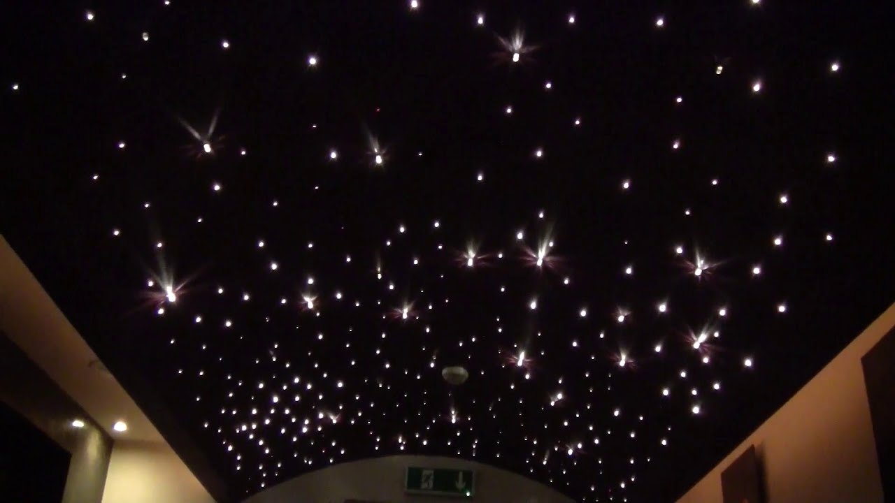 Fiber Optic Star. Lighting Fiber Optics. Star Ceiling. Fiber Optic Star  Ceiling.   YouTube