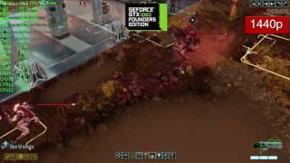 XCOM 2 GTX 1060 Frame Rate Benchmark Performance - Ultra Graphics 1440p