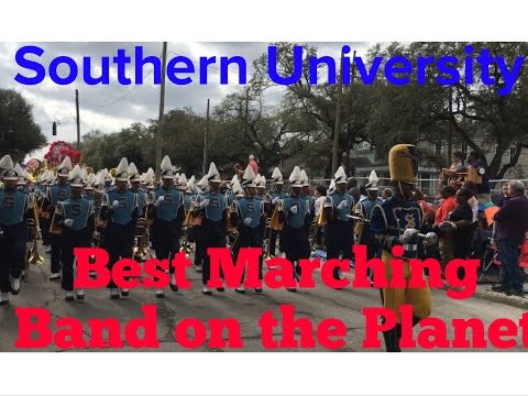 Best Marching Band On The Planet Southern University at the New Orleans Mardi Gras