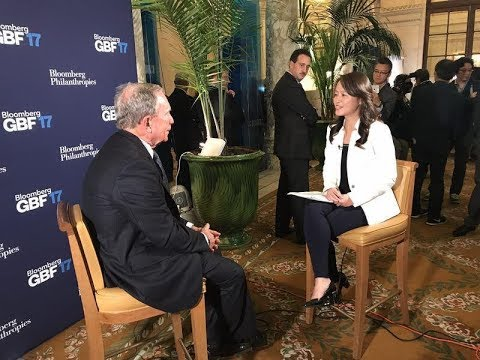 Yicai Interview With Mike Bloomberg