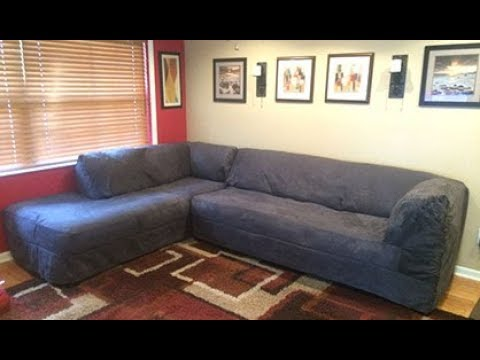 Sectional Sofa Cover - YouTube