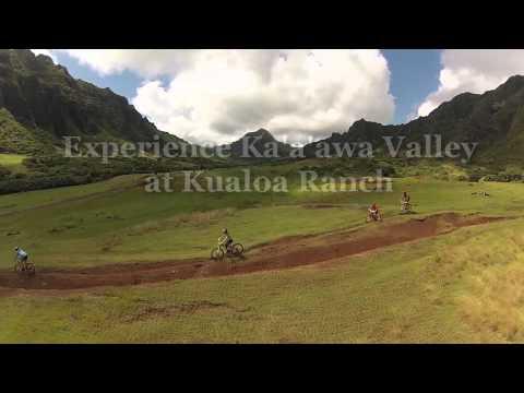 Mountain bike tour Kualoa Hawaii