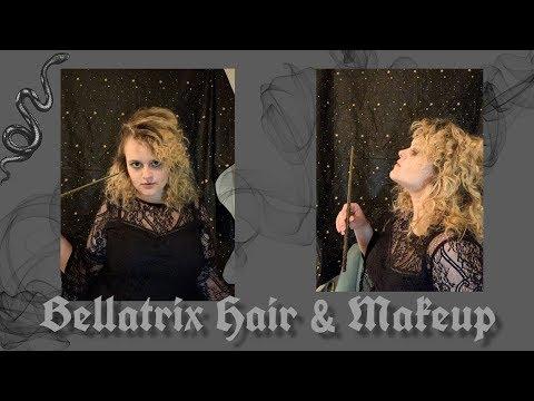 Bellatrix Lestrange Hair & Makeup Tutorial thumbnail