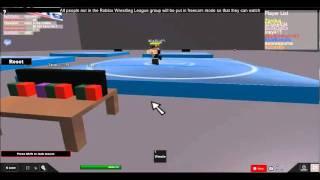 RWW Roblox Wrestling Tournament part 4