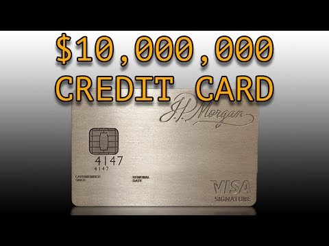 J.P. Morgan Chase Palladium Credit Card Unboxing Review (Palladium Gold Not AMEX CENTURION)