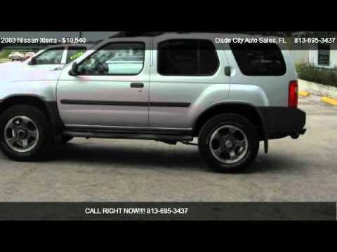 2003 Nissan Xterra SE SUPERCHARGED 4X4 - for sale in Dade City, FL