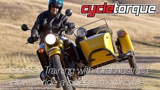 Sidecar Training - How to ride a sidecar motorcycle Ural Sidecars
