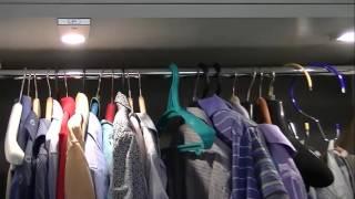 Пантограф для одежды и светодиодные светильники Apus(, 2016-03-01T09:25:53.000Z)