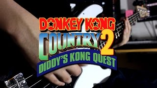 stickerbush symphony donkey kong country 2 guitar cover