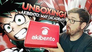 BOKU NO HERO ACADEMIA!? | Akibento Unboxing | MAY 2018: Academy Theme