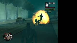 My 1st OBS Gameplay Test: GTA San Andreas